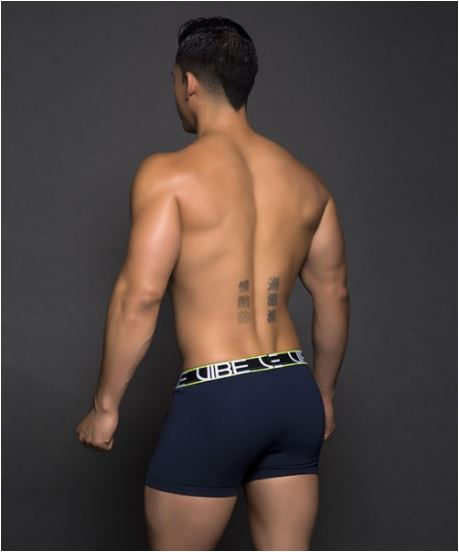 Vibe Sports Navy Blue Boxer