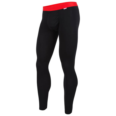 Weekday Long Johns Black Red