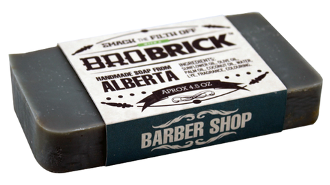 Bro Brick Barber Shop Soap