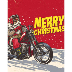 Pull In Bad Ass Santa