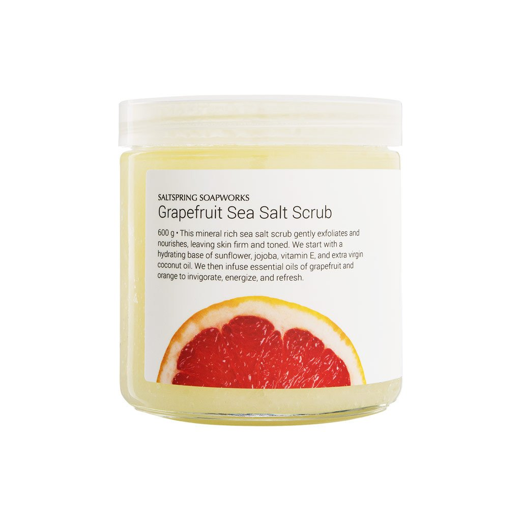 Grapefuit Sea Salt Scrub