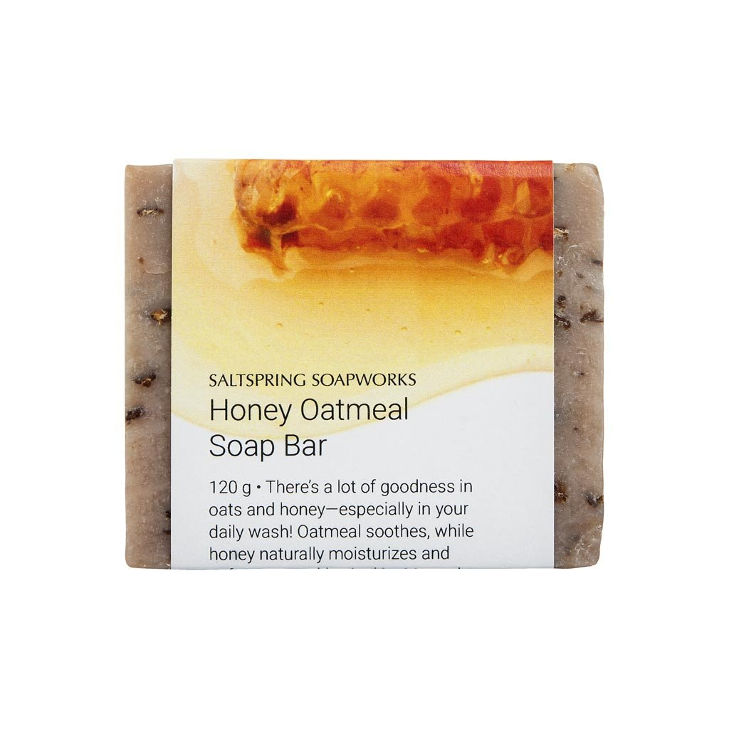 Honey Oatmeal Soap Bar