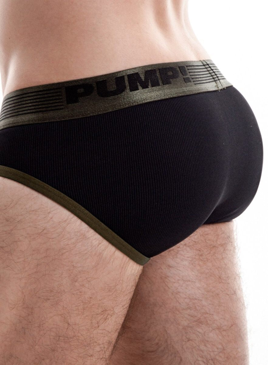 Ribbed Brief Military
