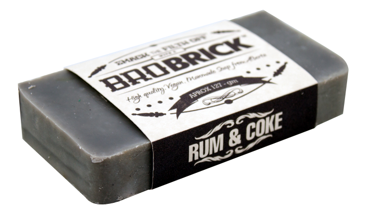Rum and Coke Soap - Bro Brick Canada