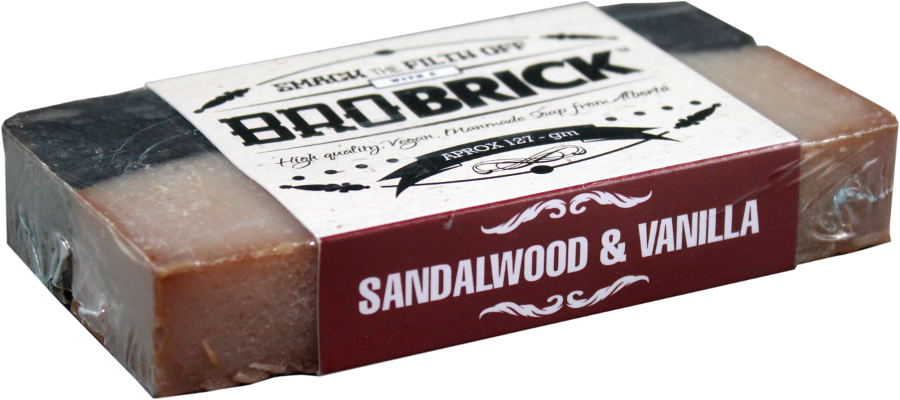 Bro Brick Sandalwood Vanilla Soap