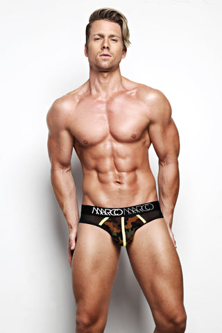 Briefs Camouflage Front with Mesh Back