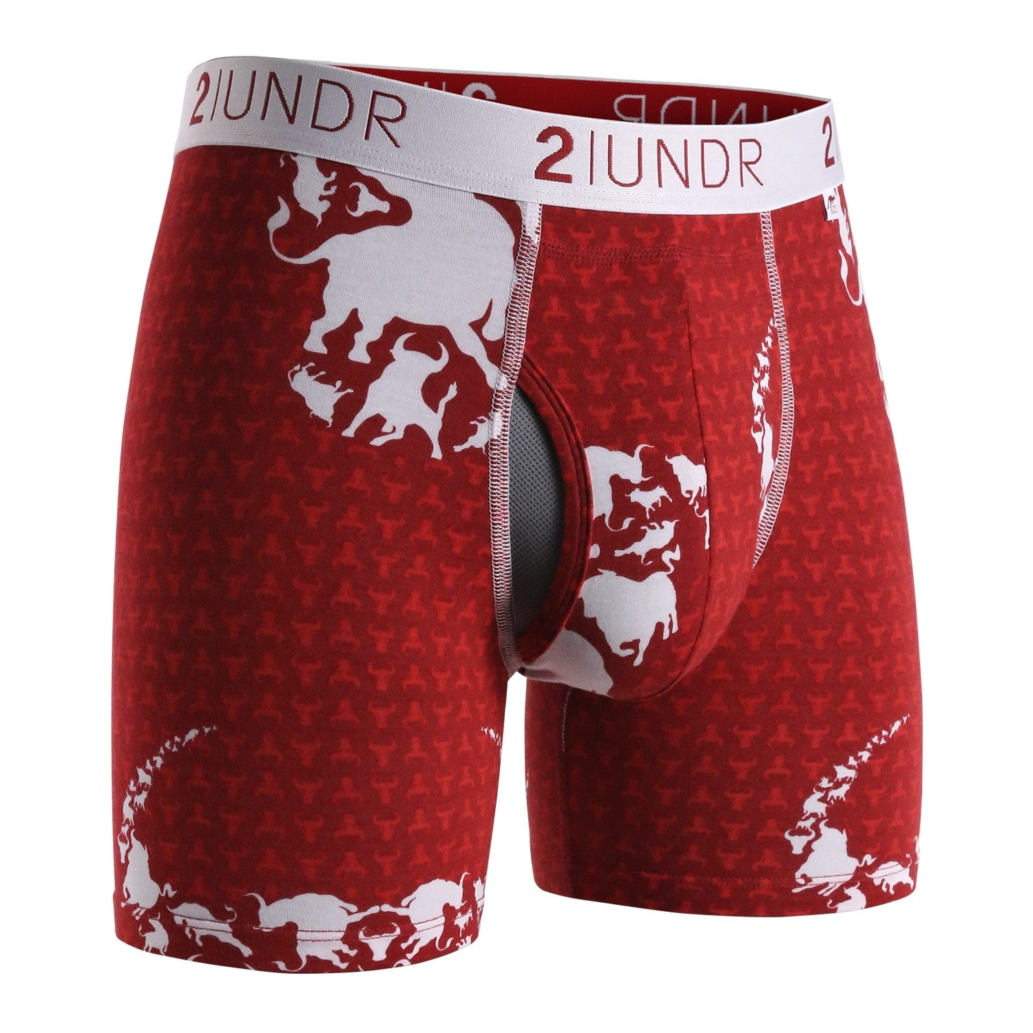"Swing Shift 6"" Boxer Brief - Pamplona"