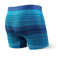 "Vibe Boxer Modern Fit 5"" Blue Binding Stripe"
