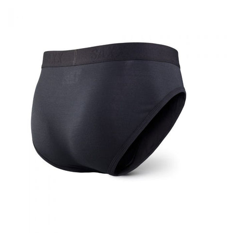 Ultra Brief Open Fly Black