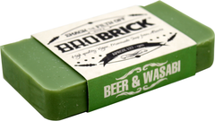 Bro Brick Wasabi and Beer Soap for men