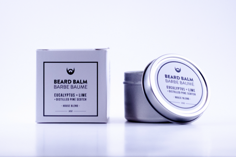 House Blend Beard Balm Eucalyptus + Lime