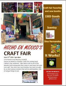 June Craft Fair June17th