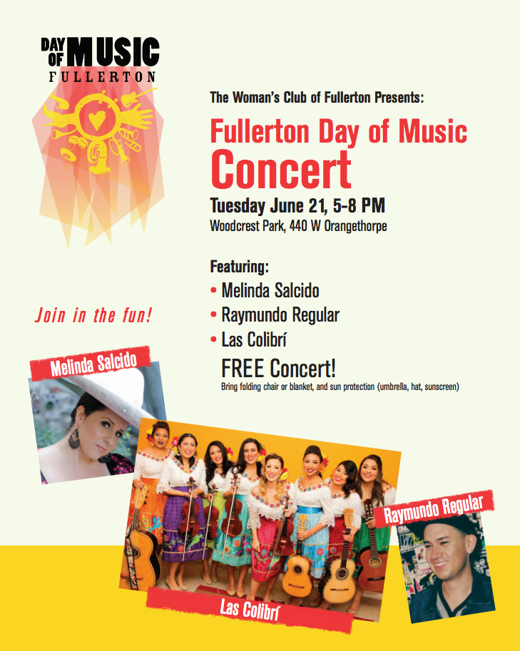 Fullerton Day of Music Concert