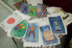 mexican clothing loteria cards