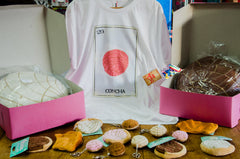 concha tshirt and accessories