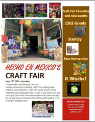 Hecho en Mexico June Craft Fair