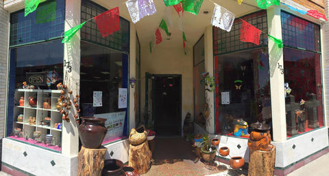 Storefront of Hecho en Mexico 173 w Santa fe ave placentia CA