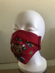 Frida Kahlo Embroidered Face Mask