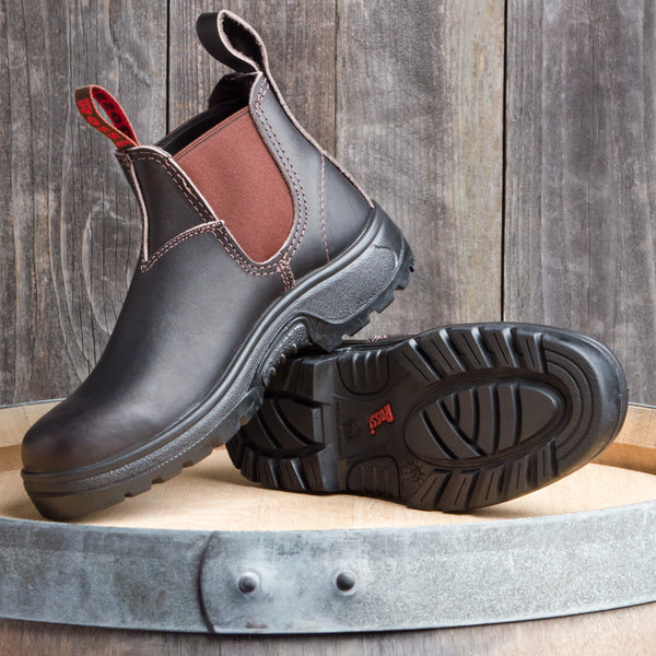 PARKES Work Boot, CLARET (900)