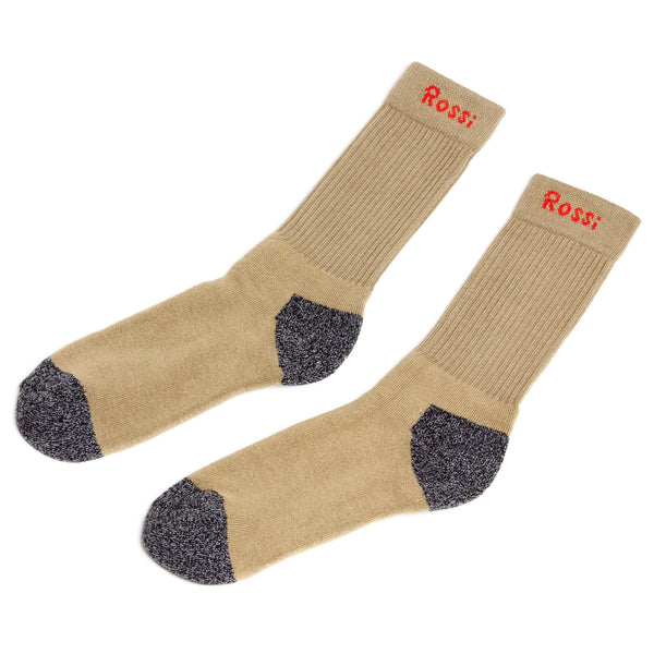 ROSSI Friction Free Socks, Khaki