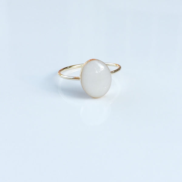 """Constance"" 14k Gold Filled Oval Ring"