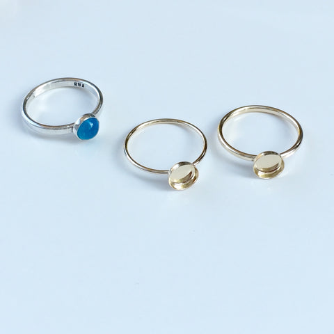 """Small Simplicity"" 14k Gold Filled Ring"