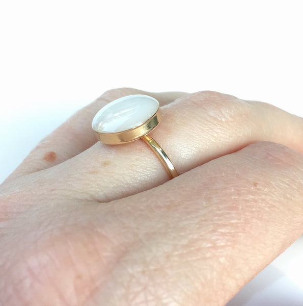 """Simplicity"" 14k Gold Filled Ring"