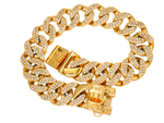 31 MM GOLD DIAMOND ROLLS ROYCE COLLAR