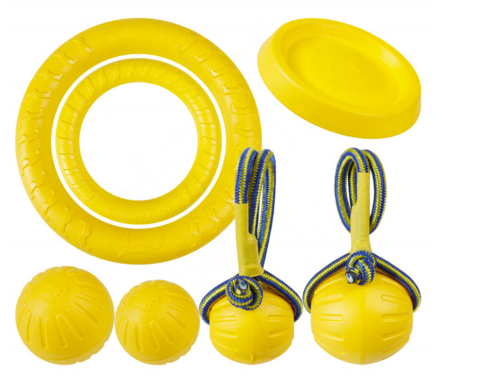 7 PIECE TOY SET