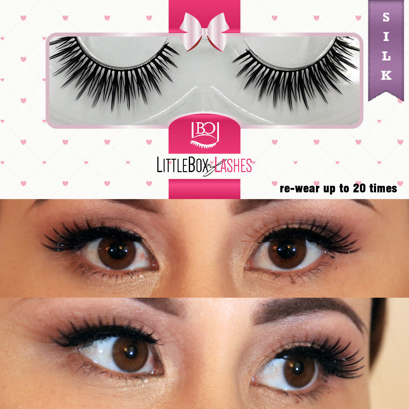 Ooh La La False Eyelashes Luxe Silk Lashes Collection Little