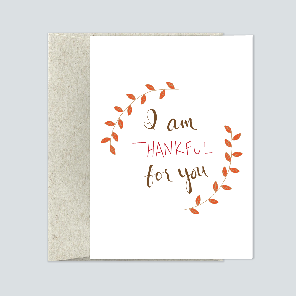 Thankful for you greeting cards blue moon sirsees thankful for you greeting cards m4hsunfo