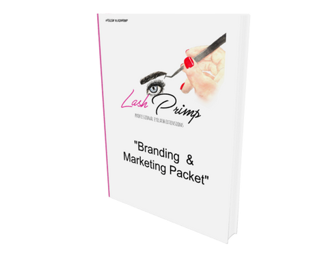 Branding & Marketing Workbook (Sample Version) - Lash Primp