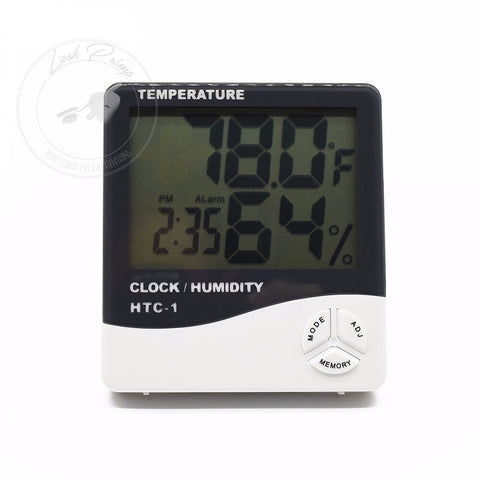 Multi Function Hygrometer - Lash Primp