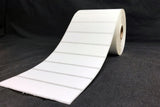 "Thermal Transfer Polyester Labels - Perforated - 1"" core - 3.75"" x 0.9375"""