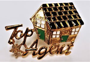 "Pin - ""Top Agent"""