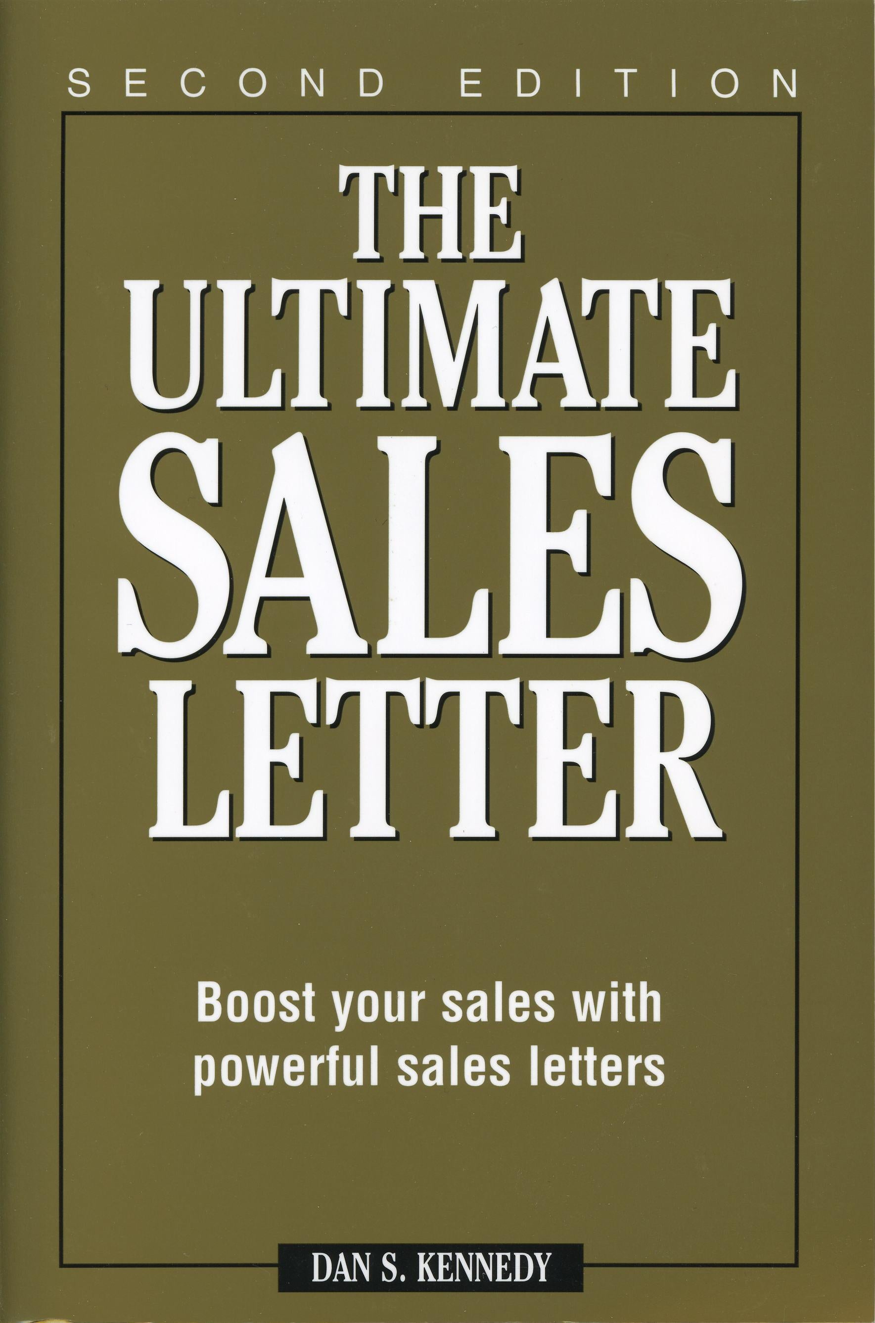 Ultimate Sales Letter Boost Your Sales With Powerful Sales Letter