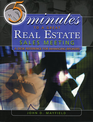 5 Minutes to a Great Real Estate Sales Meeting