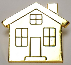 House Shaped Pin