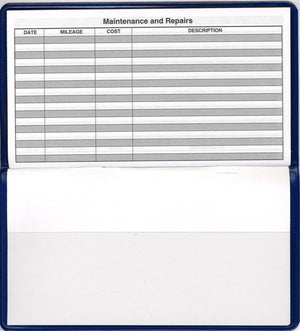 Auto Expense Log Book