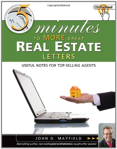5 Minutes To More Great Real Estate Sales Letter Realty Supply Center