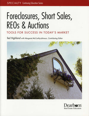 Foreclosures, Short Sales, REO (Soft Cover)