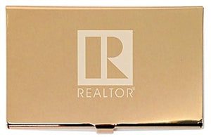 Business Card Holder, Metal, REALTOR®