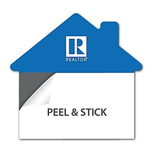 Business Card Magnets - House Shaped - 25 Pack