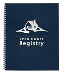 Open House Guest Register, Spiral Bound
