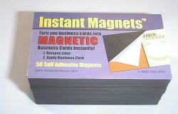 Instant Magnet - Business Card Magnets