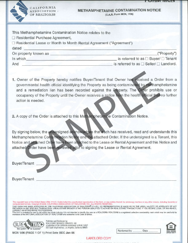 Forms Page 4 Realty Supply Center