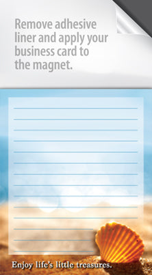 Short Magnetic Notepad