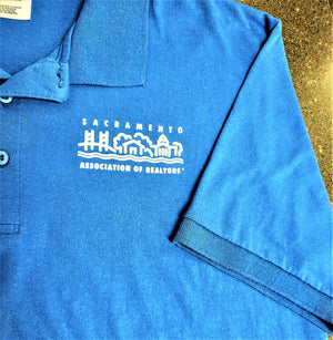 Shirt - Sacramento Association of REALTORS Logo, Cotton Polo Shirt Closeout