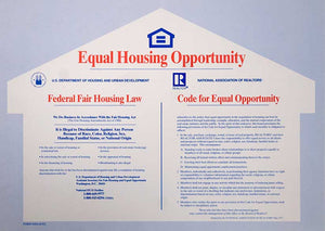 Fair Housing Law Poster