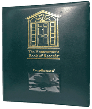 Homeowner's Book of Records